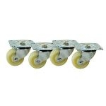 Video Mount Products ER-CASTER Rack Casters
