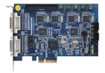Geovision GV-1240B 8 Channel PCI Express Combo Digital Video Recording (DVR) Surveillance Card with version V8.5 Complete Webcam Software Suite Included