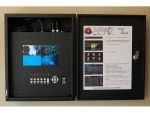 TK4-250 Turnkey CCTV 4 Channel Lockbox DVR 7 Inch LCD - 250GB