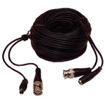 VT-RG-182-50 50' Combo Cable w/RG179U Mini Coax (BNC) and 18awg 2 Cond (2.1mm power)