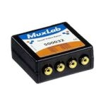 500032 MuxLab Quad Video Balun - RCA