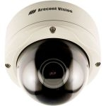 AV5155 Arecont Vision 5 MP H.264/MJPEG IP Color Camera 4-10 mm Lens Vandal Dome