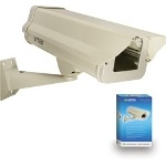 VT-EH10/PK Indoor/Outdoor Camera Enclosure & Wall Mount Combo
