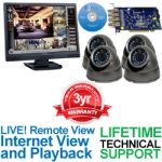 Geovision/Extreme Armor GV-DVR-CARD 4 Camera Surveillance Video System