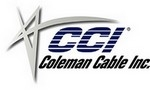 99969-45-01 Coleman Cable RG59 20BC 95%BC CL2P - 500 Feet Plenum