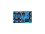MOM5 Altronix 5 Output Access Power Distribution Module - Converts one (1) 12VDC or 24VDC input into five (5) power outputs, PTC Class 2 power limited outputs rated @ 2.5 amp, UL Recognized.
