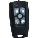 TX-4015-01-2 DesignLine 5-Button Keyfob w/LED Flashlight