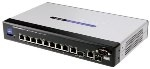 SRW208MP Linksys 8-Port 10/100 + 2-Port 10/100/1000 w/WebView & Maximum PoE Switch