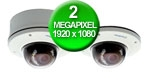 2.0MP: High Definition Megapixel H.264 IR VANDAL PROOF IP DOME