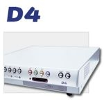 DM/D4AC/080 Dedicated Micros 4-way 80GB DVMR w/PPP, w/Networking, audio 60 PPS, CD