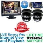 Geovision/SONY GV-DVR-CARD 4 Camera Surveillance Video System