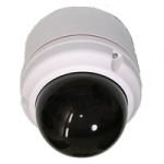 1381V119 Canon Vandal Surface Mount Dome 5inch Tinted