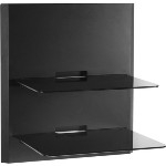 Blade2 OmniMount 2-SHELF WALL SYSTEM w/CABLE MANAGEMENT