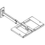 VMP006-W VMP Heavy Duty Double Arm Television Wall Mount