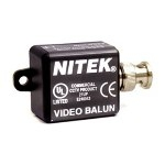 VB37M Nitek Video Balun Transceivers for Twisted Pair up to 750 feet (228 meters) w/ Male BNC