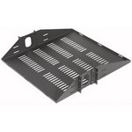 ER-S2CM VMP Vented 2 Space Center Mount Rack Shelf