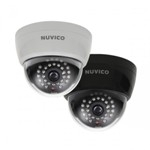 NUVICO CD-HD2N-LB INDOOR DOME CAMERA WITH 18 LEDs, BLACK FINISH