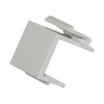 Blank Insert For Wall Plate - White