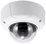 WEC-IPDOME - 3.0 Megapixel IP Dome Camera w/ Heater Blower