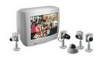 VS8394/41T BOSCH COLOR OBSERVATION SYS, 14-INCH MONITOR, 8 INPUT MUX. W/ONE MINIDOME CAMERA (VC7D1305T)& 3MM LENS, 120VAC, 60HZ.