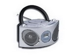 Secureshot Boom Box Radio/CD Player