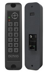 RC-02-ILF-IP-M-K PowerNet Reader, IP, non HID, Mullion w/Keypad