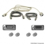 A3X982 Belkin Pro Series OmniView KVM PS/2 Cable Kit 6 feet - Pack of 2