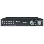 EDRHD4H4/8 HDcctv Hybrid DVR, 4 HD Channels, 4 SD Channels, 8 TB, DVD
