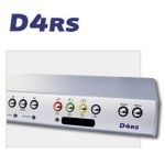 DM/D4ACR/160 Dedicated Micros 4-way 160GB DVMR w/PPP, w/Networking, audio 60 PPS, CD, RS