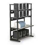 7100-1-100-36 Kendall Howard 36 inch 4 Post LAN Rack