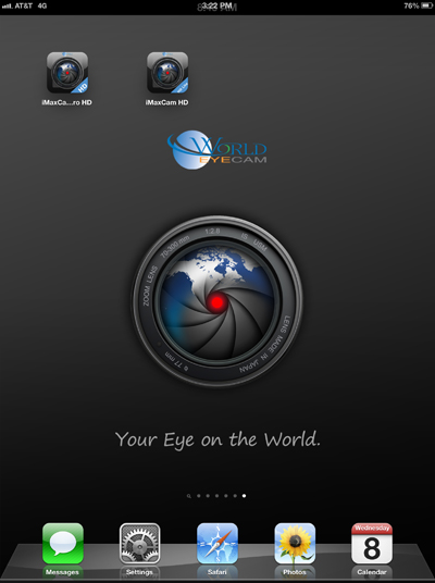 iMaxCam HD iPad icon