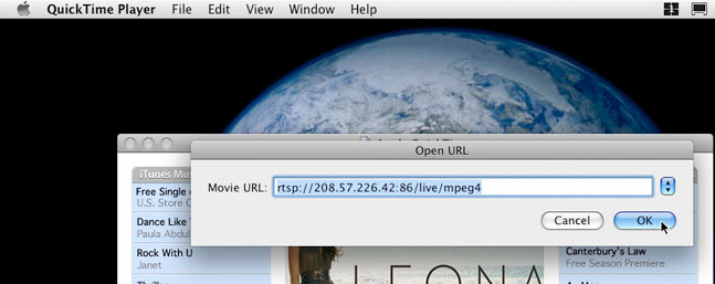 How to Use QuickTime to Remote View CCTVDVR16TSM on a Mac