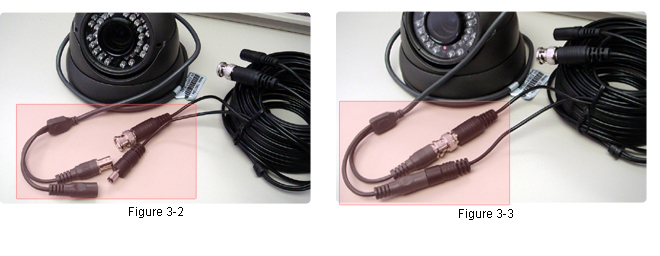 Connecting BNC cables