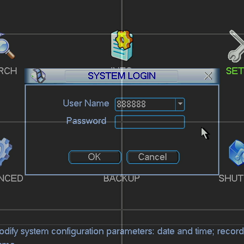 iMaxCamPro DVR Forgotten or Lost Password - Worldeyecam