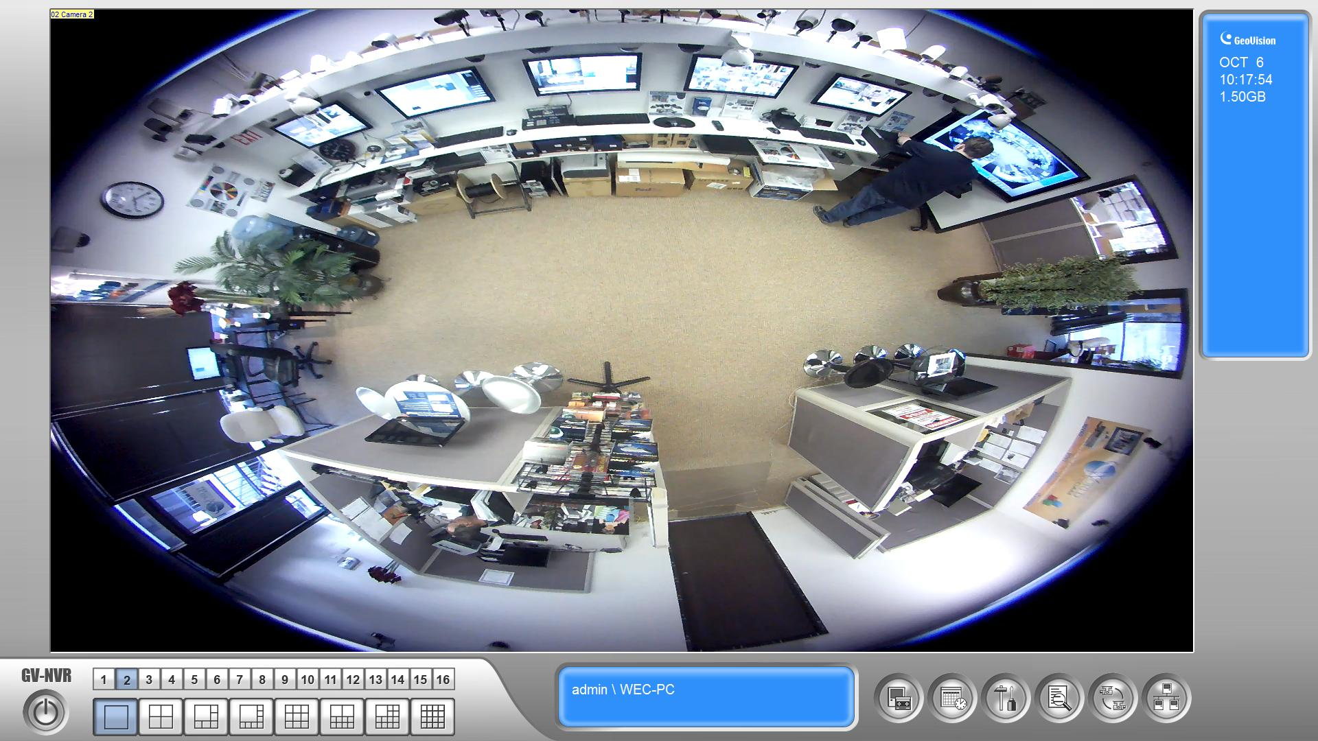 GV-FE4301 4MP H.264 WDR Fisheye IP Camera