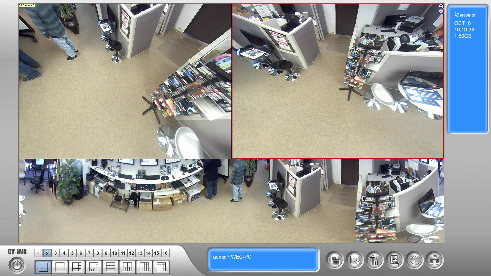 Gv Fe4301 4mp H 264 Wdr Fisheye Ip Camera Worldeyecam