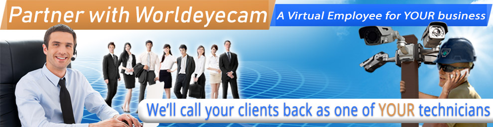 Worldeyecam Dealers and CCTV Installers