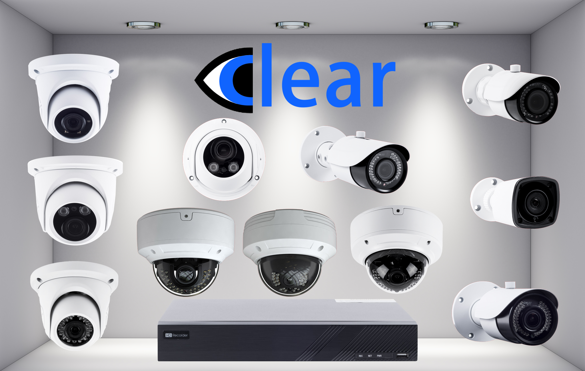 Clear Dome Cameras